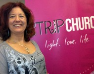 Kelly attends Strip Church Training 2012 Pasadena, California